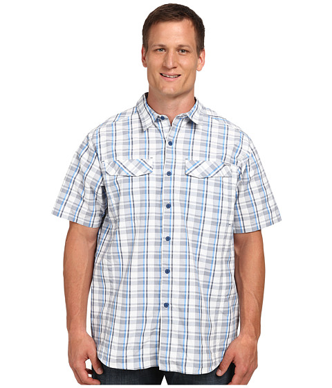 Imbracaminte Barbati Columbia Silver Ridgetrade Multi Plaid SS Shirt - Big White Plain Weave