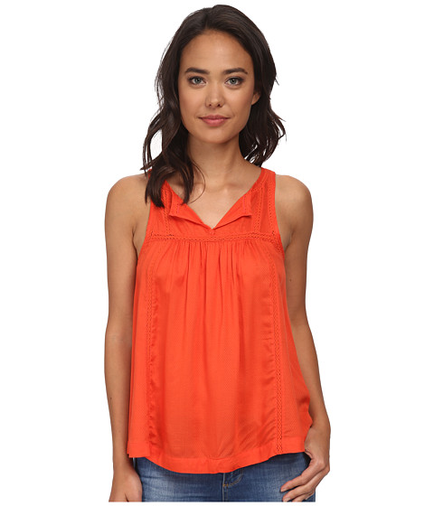 Imbracaminte Femei Lucky Brand Solid Novelty Tank Top Grenadine