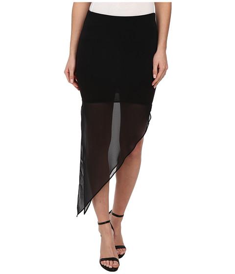 Imbracaminte Femei BCBGeneration Asymmetrical Pull-on Skirt Black