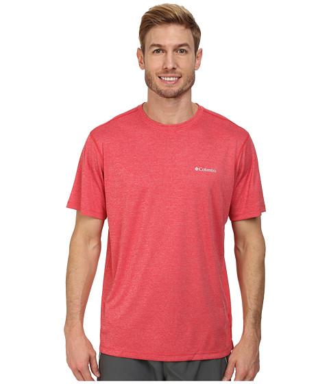 Imbracaminte Barbati Columbia Accelerwicktrade Short-Sleeve Knit Shirt Bright Red Heather