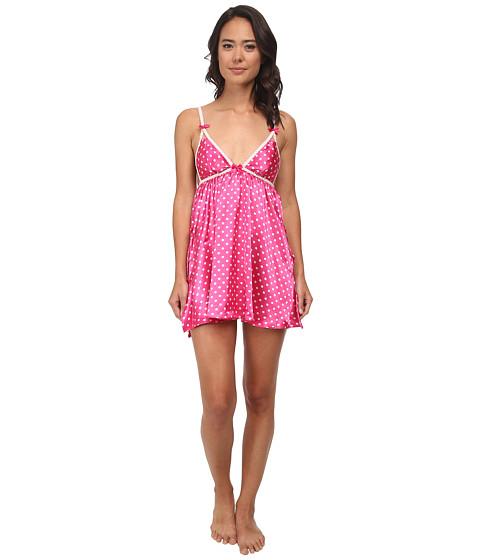 Imbracaminte Femei Betsey Johnson Satin Slip Gina Dots Think Pink