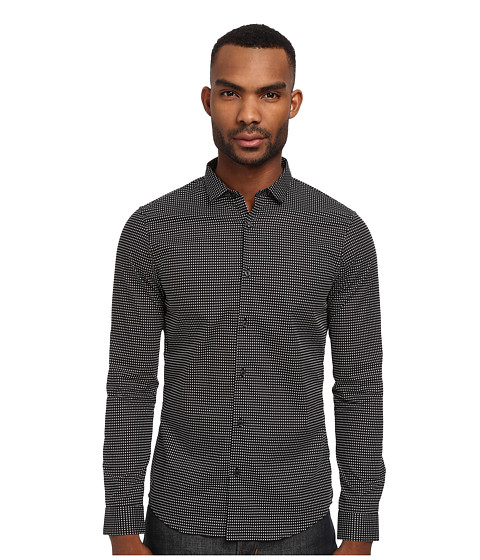 Imbracaminte Barbati Michael Kors Palmas Dot Slim Shirt Black