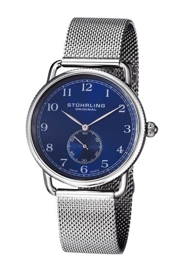 Ceasuri Barbati Stuhrling Mens Classique 207M Bracelet Watch 40mm SILVER