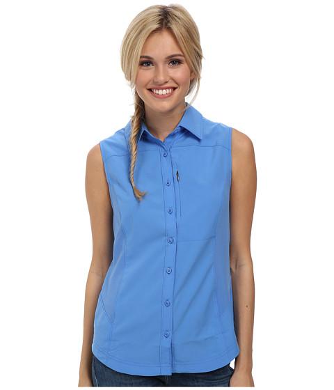Imbracaminte Femei Columbia Silver Ridgetrade II Sleeveless Shirt Harbor Blue