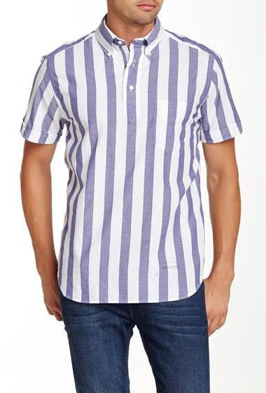 Imbracaminte Barbati Gant Rugger India Madras Pullover Regular Fit Shirt YALE BLUE
