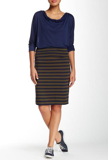 Imbracaminte Femei Splendid Stripe Skirt OLIVINE
