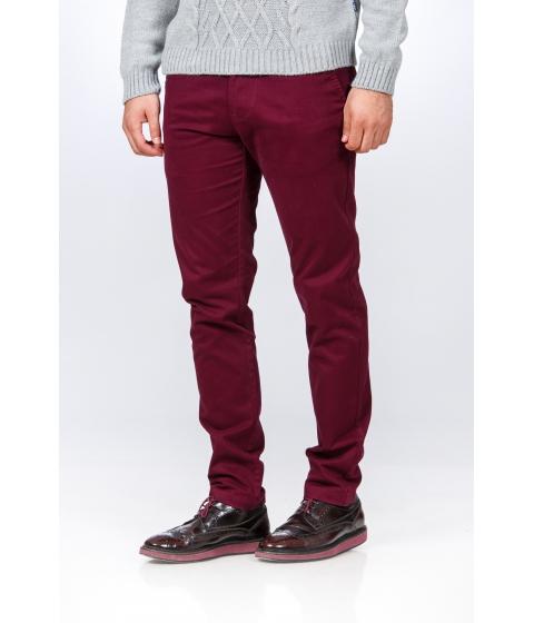 Imbracaminte Barbati Be You Pantaloni rosu bordo casual pentru barbati Multicolor