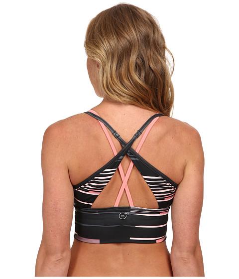 Imbracaminte Femei PUMA WT Hot In Here Fitness Bra BlackTurbulenceSalmon Rose