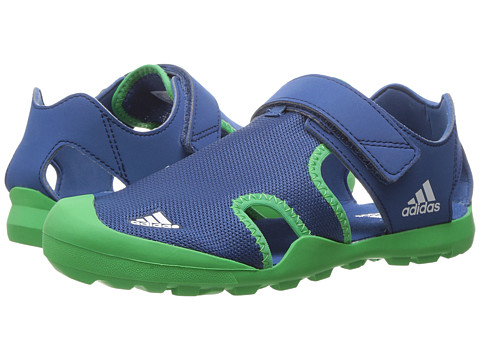 Incaltaminte Baieti adidas Captain Toey (ToddlerLittle KidBig Kid) Core BlueEnergy GreenWhite