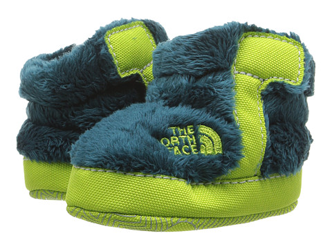 Incaltaminte Baieti The North Face NSE Fleece Bootie (InfantToddler) Deep Teal BlueLime Green