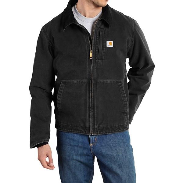 Imbracaminte Barbati Carhartt Full Swing Sandstone Jacket BLACK (01)