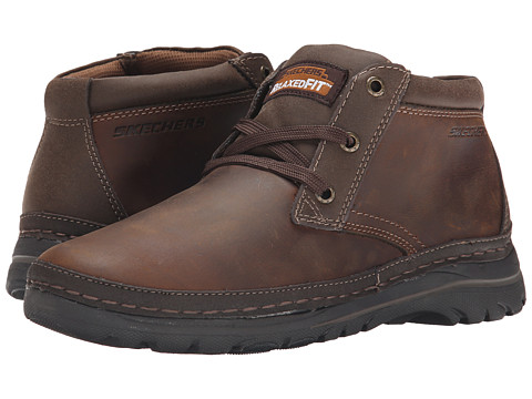 Incaltaminte Barbati SKECHERS Selected Renton Dark Brown