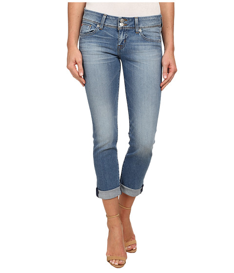 Imbracaminte Femei Hudson Ginny Straight Ankle Jeans w Cuff in Hot Springs Hot Springs