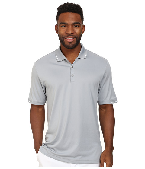 Imbracaminte Barbati adidas Golf CLIMACHILLreg Solid Polo Mid GreyWhite