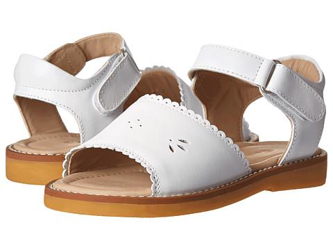 Incaltaminte Fete Elephantito Classic Sandal w Scallop (ToddlerLittle Kid) White