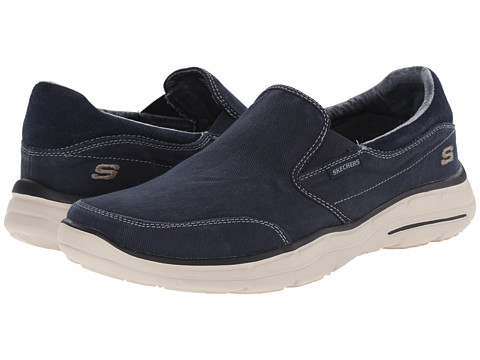 Incaltaminte Barbati SKECHERS Relaxed Fit Glides - Adamant Navy
