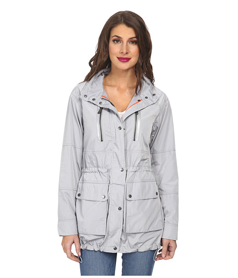 Imbracaminte Femei Vince Camuto Hooded Anorak H8651 Silver