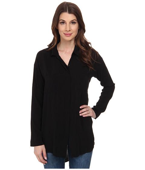 Imbracaminte Femei Splendid Rayon Voile Tunic Black
