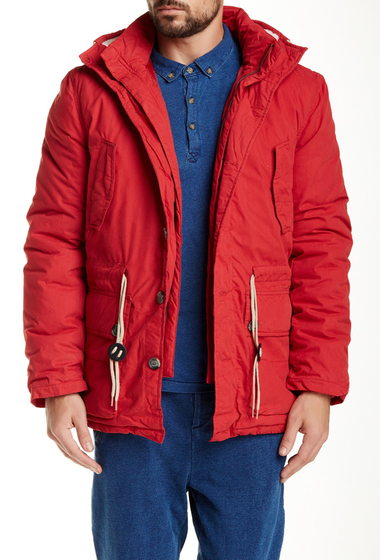 Imbracaminte Barbati NATIVE YOUTH Explorer Jacket BRICK RED