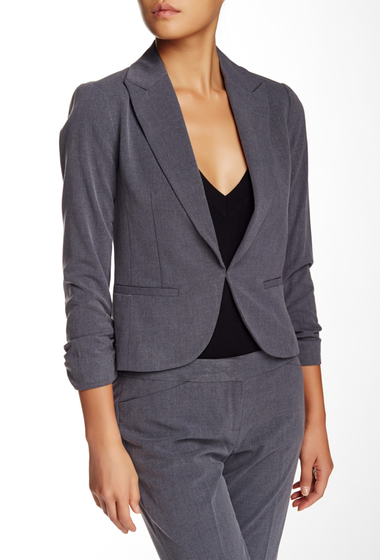 Imbracaminte Femei Amanda Chelsea Signature 34 Length Sleeve Jacket Petite PEWTER