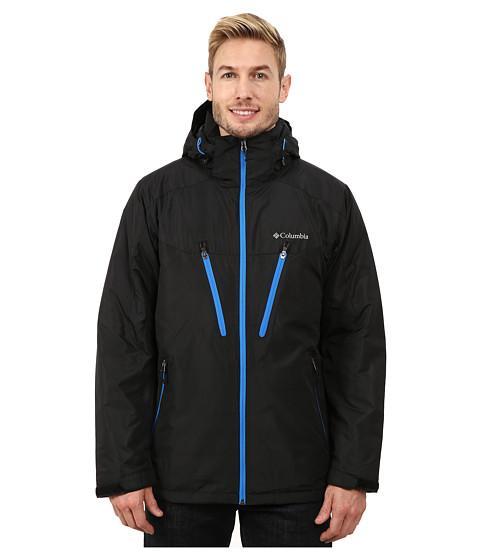 Imbracaminte Barbati Columbia Antimonytrade IV Jacket BlackHyper Blue Zips