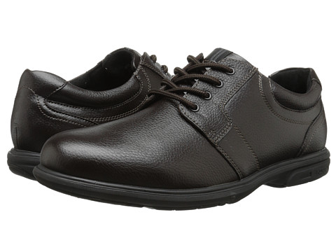 Incaltaminte Barbati Nunn Bush Cole Plain Toe Oxford Dark Brown