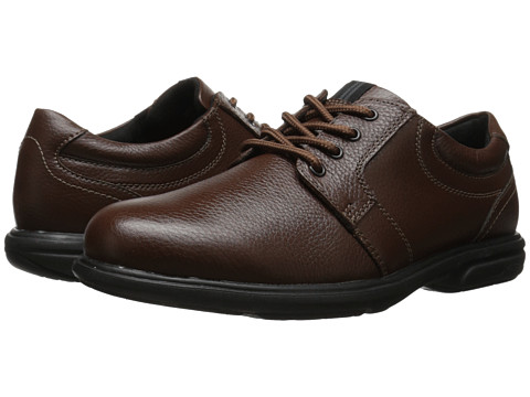 Incaltaminte Barbati Nunn Bush Cole Plain Toe Oxford Chestnut