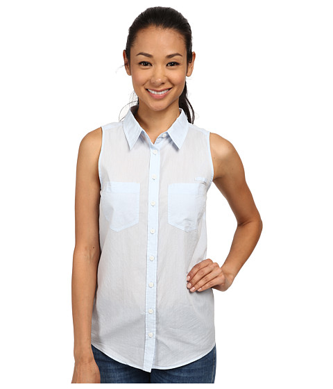 Imbracaminte Femei Patagonia Brookgreen Sleeveless Top Chambray Dusk Blue