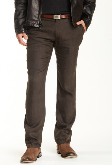 Imbracaminte Barbati John Varvatos Collection Motor City Low Rise Slim Jean CHOCOLATE