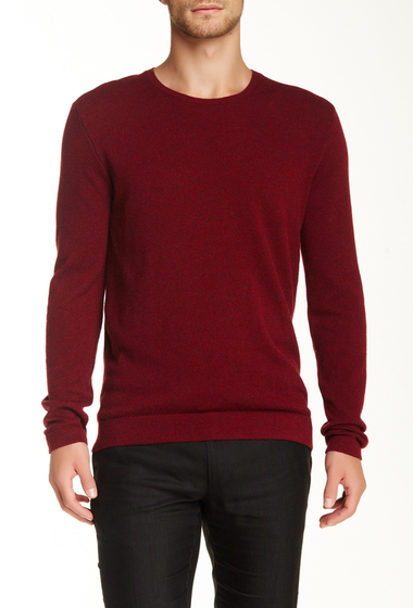 Imbracaminte Barbati John Varvatos Collection Cashmere Crew Neck Sweater SCARLET