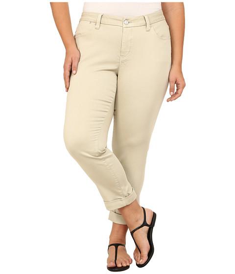 Imbracaminte Femei Jag Jeans Plus Size Erin Cuffed Ankle in Khaki Khaki