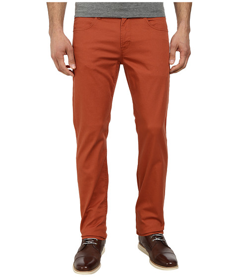 Imbracaminte Barbati Hudson Byron Five-Pocket Straight Zip Fly in Rust Rust