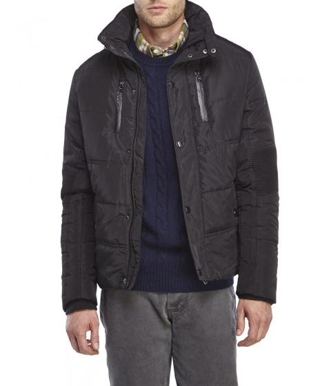 Imbracaminte Barbati American Stitch Quilted Moto Jacket Black