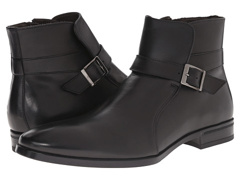 Incaltaminte Barbati A Testoni DO47069 Rubber Calf Peru Ankle Boot NeroDark Metal Rubber Peru Calf