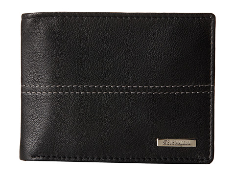 Genti Barbati Steve Madden Center Stitch Passcase Black
