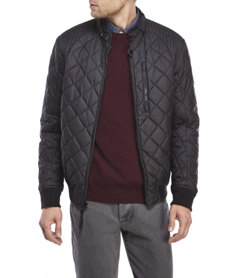 Imbracaminte Barbati Marc New York by Andrew Marc Delancey Quilted Bomber Jacket Black