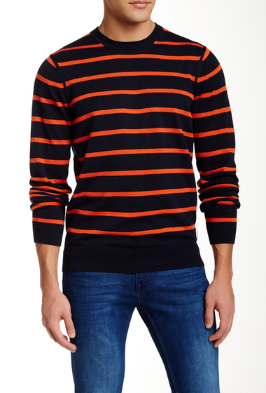 Imbracaminte Barbati Ben Sherman Crew Neck Sweater NAVY BLAZER