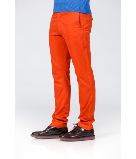 Imbracaminte Barbati Be You Pantaloni caramizii stretch Multicolor