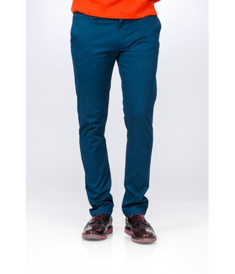 Imbracaminte Barbati Be You Pantaloni albastri stretch Multicolor