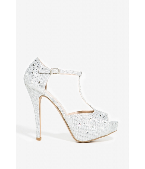 Incaltaminte Femei CheapChic Altino Sophisticated Love Platform Met Slvr