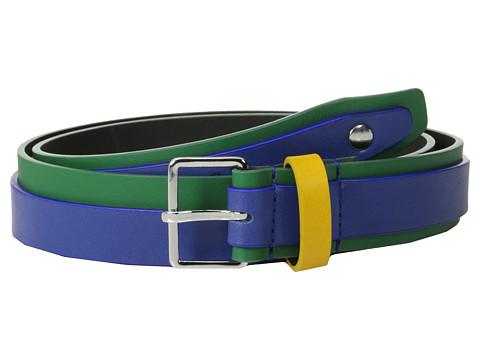 Accesorii Barbati DSQUARED2 Full Color Belt GreenFuchsia