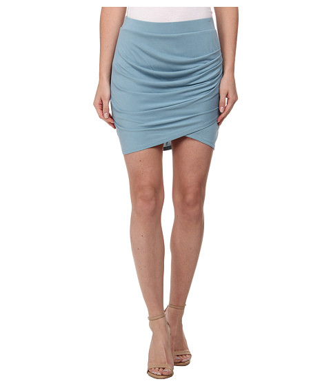 Imbracaminte Femei BCBGMAXAZRIA Paloma Pleated Tulip Skirt Vintage Blue Breeze