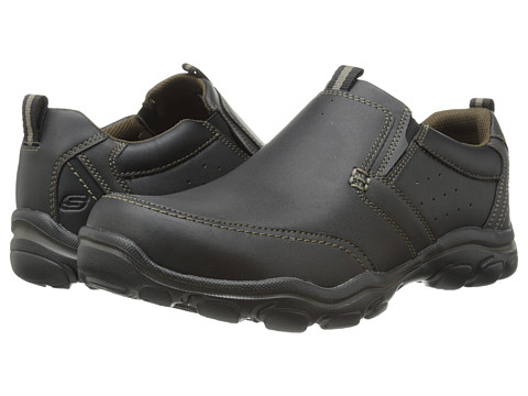 Incaltaminte Barbati SKECHERS Relaxed Fit Montz - Devent Black
