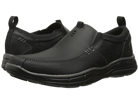 Incaltaminte Barbati SKECHERS Relaxed Fit Glides - Ramis Black
