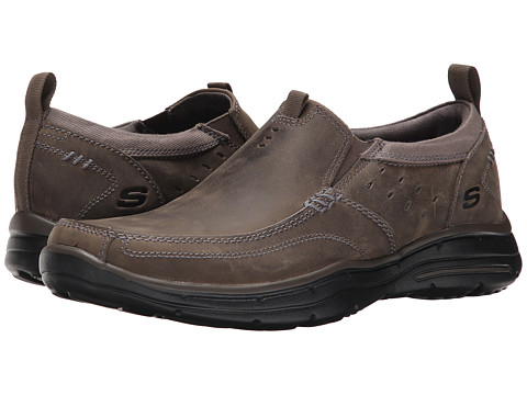 Incaltaminte Barbati SKECHERS Relaxed Fit Glides - Ramis Charcoal