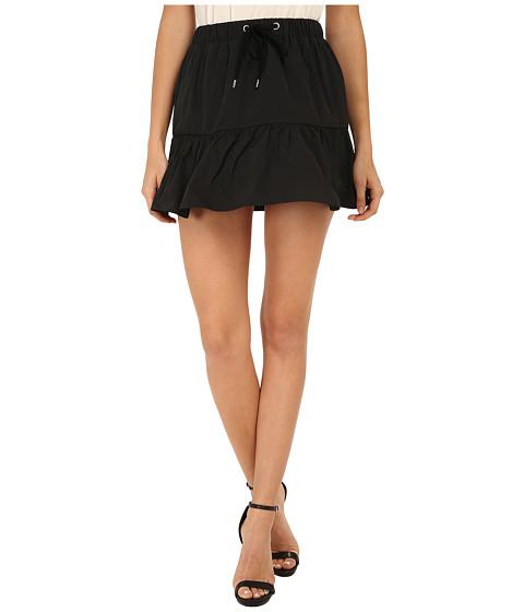 Imbracaminte Femei Red Valentino Light Taffeta Skirt Black