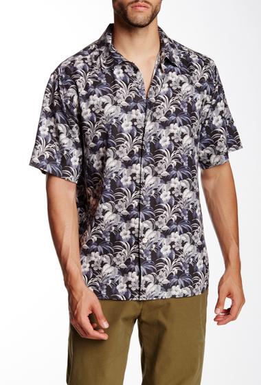 Imbracaminte Barbati Tommy Bahama Hibiscus Alfresco Original Fit Silk Camp Shirt BLACK