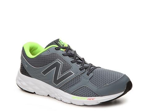 Incaltaminte Barbati New Balance 490 v3 Lightweight Running Shoe - Mens GreyNeon Green