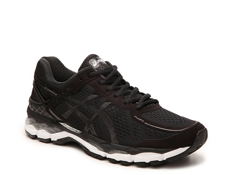 Incaltaminte Barbati ASICS GEL-Kayano 22 Performance Running Shoe - Mens BlackSilver