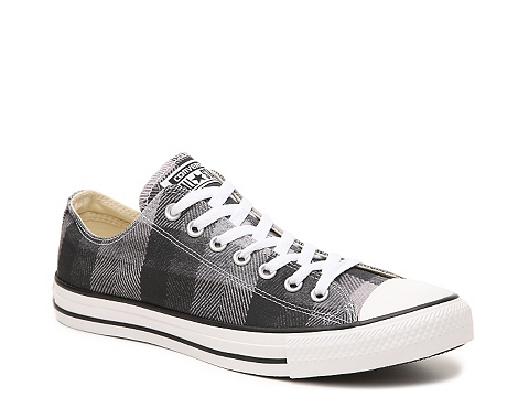 Incaltaminte Barbati Converse Chuck Taylor All Star Plaid Sneaker - Mens BlackGrey